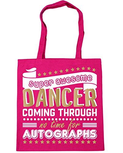 Gym HippoWarehouse Autographs For litres Bag Beach Shopping Awesome Tote Dancing 42cm Time Coming No Super Dancer Through Fuchsia 10 x38cm rr8S7