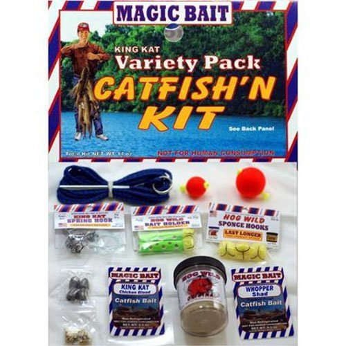 Fishing Games Catfishing Gear 21pc Cat Fishing Kit for Great Bait and Tackle - Cat Fishing Gear