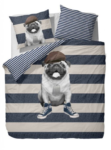 Essenza Home Cover&Co What`s up Dog   Juego de cama, diseño de