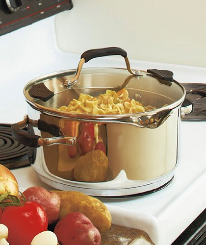 The Sharper Image 5qt Stainless Steel Stockpot