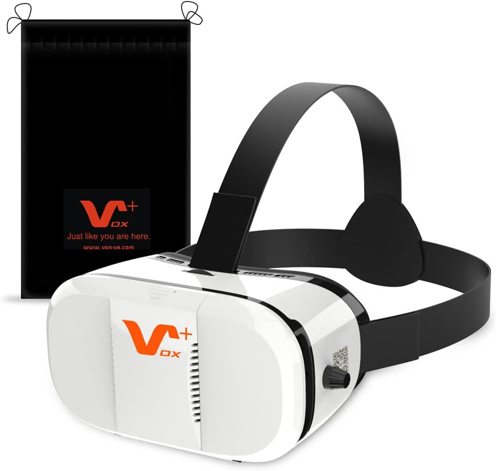 VOX+ Z3 3D VR Virtual Reality Headset Viewing Glasses for iPhone, Samsung, Google and all Android Smartphones, Get Excited Now