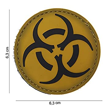 Tactical Attack Biohazard Resident Evil Softair Sniper PVC Patch Logo Velcro with Backside for Sewing Paintball Airsoft Badge Fun Outdoor Leisure