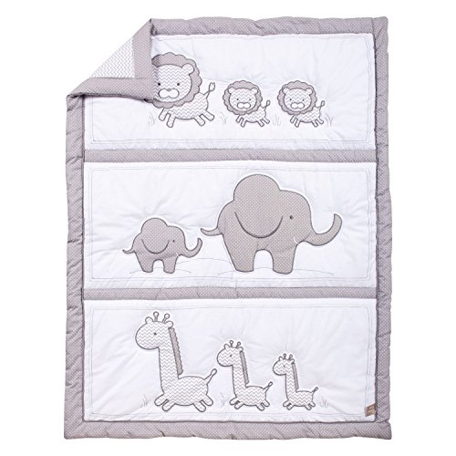 Trend Lab Safari Chevron Baby Bedding Collection 3-pc. Crib Set by Trend Lab (Image #3)
