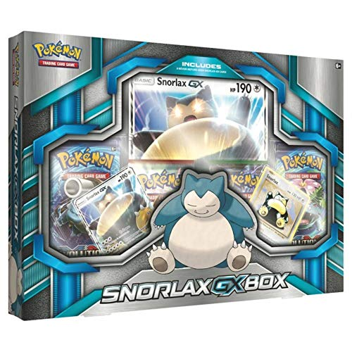 Pokemon TCG: Snorlax GX Box Card Game (Pokemon Snorlax Card)