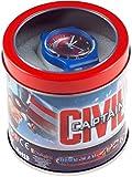 Boy's Marvel Avengers / Civil War Captain America Kids Digital Watch In Tin