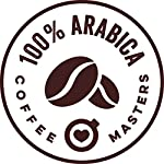 Coffee-Masters-Chicchi-di-caff-Arabica-con-Tripla-Certificazione-Organici-Fairtrade-1kg-Vincitore-del-premio-Gran-gusto-2018