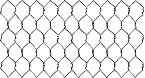 """304 Stainless Steel 22 Ga. Chicken Wire, 48"""" x 150' x 1"""" Hex Mesh 51h0NDPR7BL"""