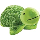 Pillow Pets 01300007E My Signature, Teddy Turtle, Stuffed Animal Plush Toy, 18''