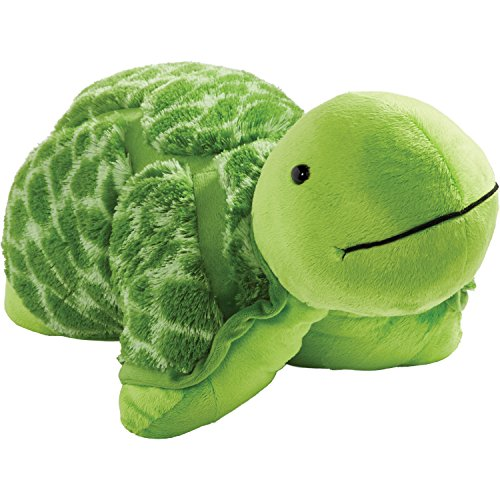 "Pillow Pets Originals Teddy Turtle 18"" Stuffed Animal Plush Toy"