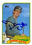Dave Otto autographed Baseball Card (Oakland Athletics) 1989 Topps #131 - Autographed Baseball Cards