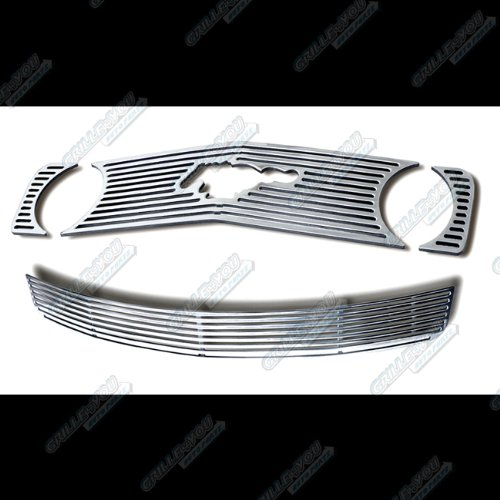 05-09 Ford Mustang GT V8 Perimeter Grille Grill Combo Insert (2008 Mustang Pony Emblem compare prices)