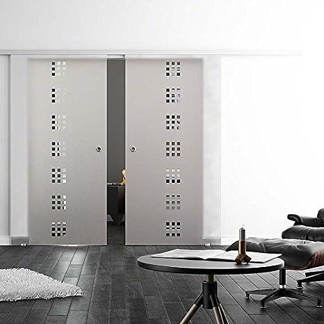 Protector de pantalla de cristal para puerta corredera de ultra suave, en forma de cubo de-de Seda, con diseño de soft-close-stop 2-lámpara de techo, con mango de concha de 2 veces 2050