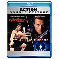 Bloodsport and Timecop Action Double Feature Blu-ray Deals