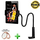 Universal Cell Phone Holder for Bed,Long Arm Gooseneck Lazy Mount for iPhone iPad Samsung Galaxy Tablet Kindle for Desk,Bedroom,Office,Bathroom,Kitchen
