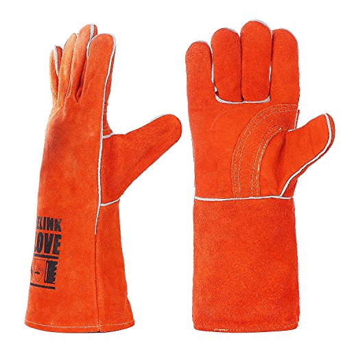 Kim Yuan Extreme Heat Amp Fire Resistant Gloves Leather With