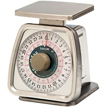 Amazon.com: Stanton Trading Portion Control Scale, analog, 25 lb ...
