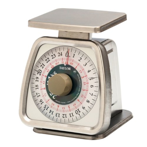 (Taylor Precision Products Stainless Steel Analog Portion Control Scale (25-Pound))