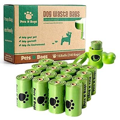 Poop Bags, Environment Friendly Pets N Bags Dog Waste Bags, Refill Rolls from Pets N Bags
