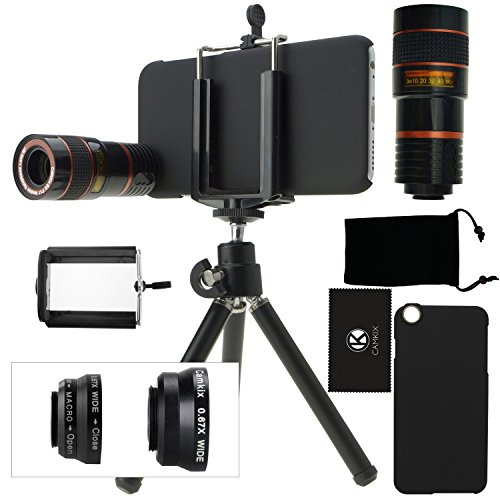 CamKix Camera Lens Kit for iPhone 6 / 6S - including 8x...