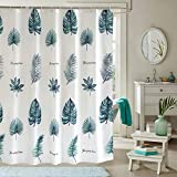 Einskey Walk In Shower Curtain - Extra Long with 12 Hooks