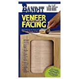 BAND-IT 12421 12-Inch x 4-Feet Iron-On Edging HM Veneer Facing, Red Oak