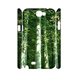 VNCASE Bamboo Phone Case For Samsung Galaxy Note 2 N7100 [Pattern-1]