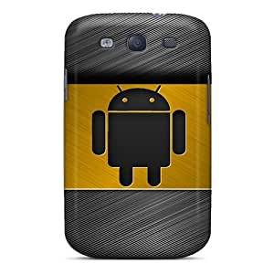 Hot Fashion GRnuIEM5444QxQiK Design Case Cover For Galaxy S3 Protective Case (android Gold)