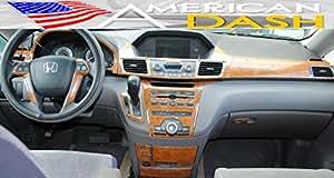 Honda Odyssey Interior Burl Wood Dash Trim Kit Set 2014 2015 Automotive