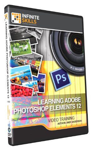 Learning Adobe Photoshop Elements 12 - Training DVD by Infiniteskills