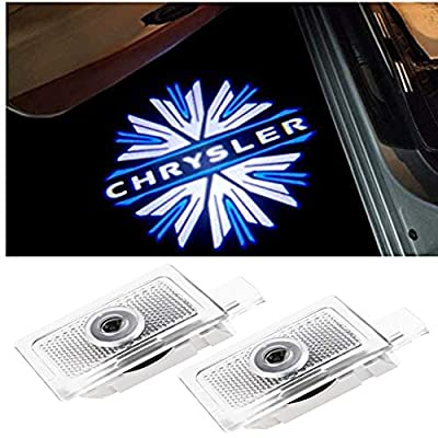 CHANONE Car Door LED Logo Projector Lights Welcome Ghost Shadow Courtesy Step Lamp for Chrysler 200 300 Sebring Series (Pack of 2): Automotive