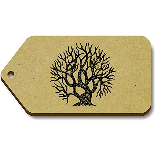10 Azeeda Tag 66mm 'Winter Tree' 34mm X regalobagagliotg00008190 OuTkXPZi