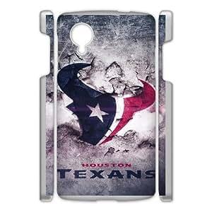 DIY phone case Houston Texans skin cover For Google Nexus 5 SQ751851