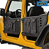 EAG Pocket Tubular Tube Doors with Mirror for 07-18 Jeep Wrangler JK (4 Door Only)