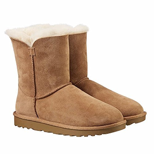 Kirkland Signature Ladies Genuine Sheepskin - Shearling Lining - Zipper Boots for Women (7, (Ladies Sheepskin Boots)