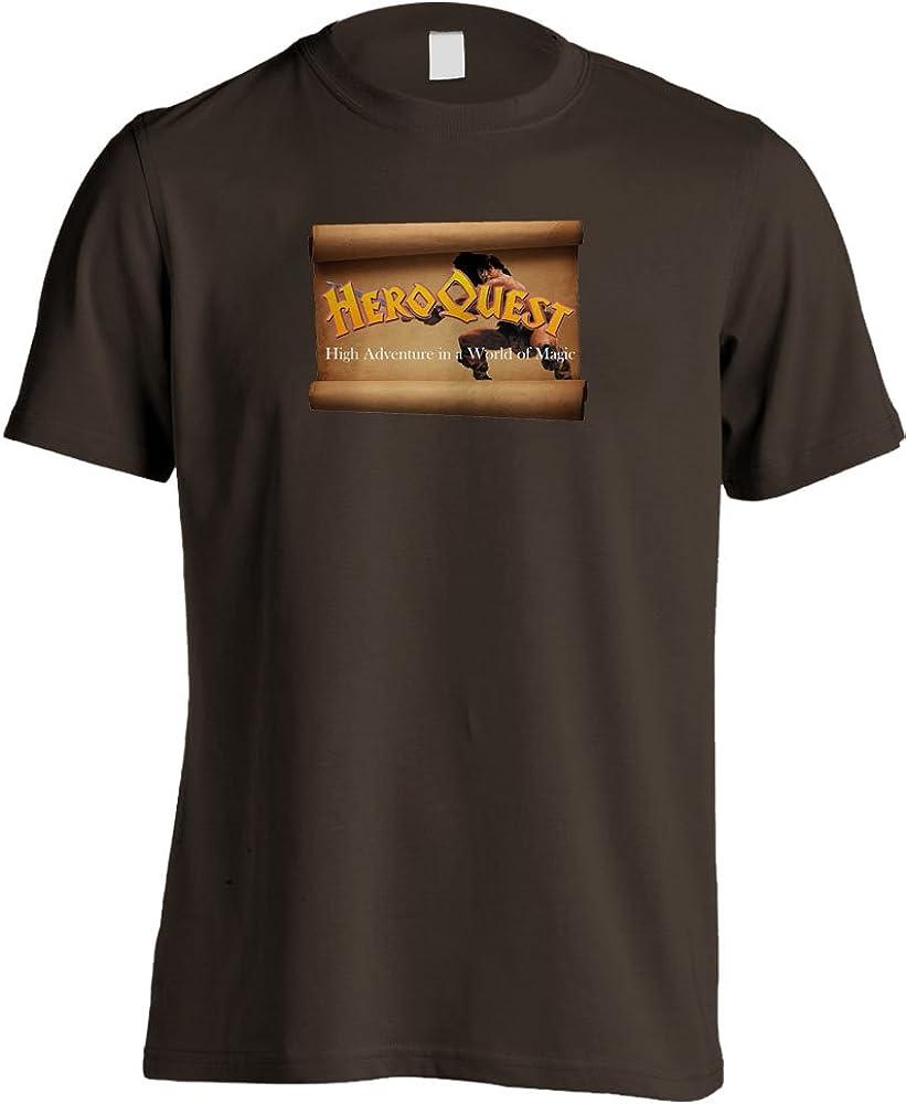 Heroquest juego de mesa diseño: Retro T-de uniforme de Barcelona F.C de juegos de: Amazon.es: Ropa y accesorios