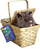 Popcandy Toto In Basket Deluxe Wizard Of Oz Costume Prop Dorothy Basket W Toto 583