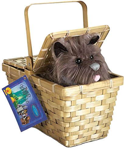 Dorothy Wizard Of Oz Costume Ideas (Popcandy Toto In Basket Deluxe Wizard Of Oz Costume Prop Dorothy Basket W Toto)