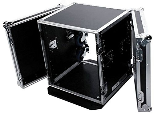 DEEJAYLED TBH12UADW Amp Rack 18'' Deep Wheels by Deejay LED