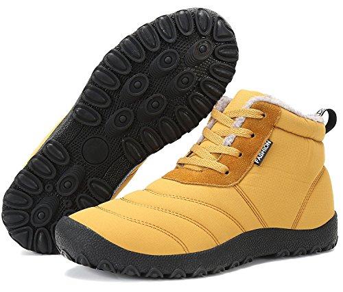 Boots Warm Yellow Dreamcity Shoes Hiking men Men's Trekking Snow Comfortable Outdoor q6EzI