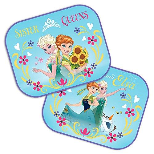 Dos parasoles de coche de Disney, con Elsa y Ana de Frozen, de 44 x 35 cm Seven Polska 9317