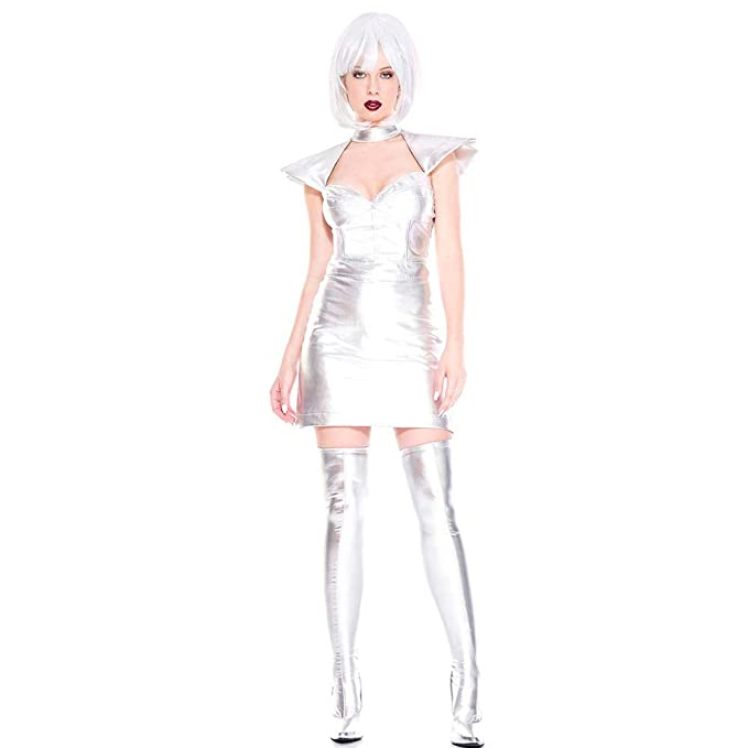 PAOFU-Vestido de Mujer Supernova Cadete Espacial,Sexy ...