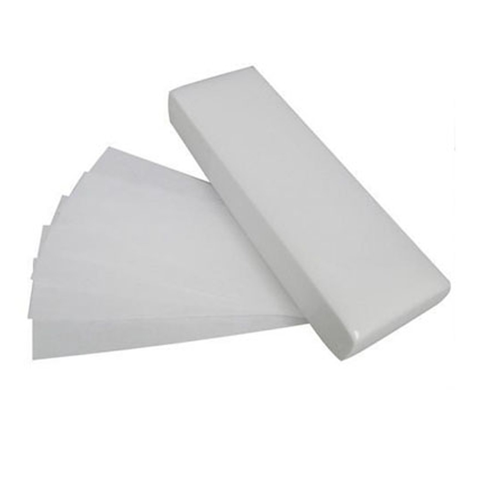 Professional Paper Waxing Wax Strips Leg Body Bikini Face Non Woven Quality (Pack of 100)