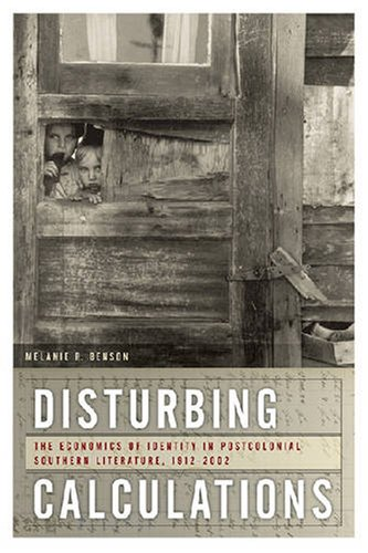 Disturbing Calculations: The Economics of Identity in Postcolonial Southern Literature, 1912-2002 (The New Southern Stud