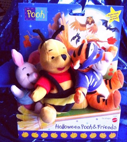 Halloween Pooh & Friends (Winnie the Pooh, Tigger & Piglet all in Halloween Costumes)