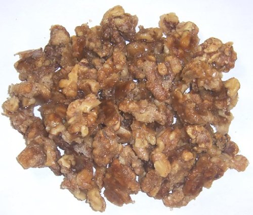 Scott's Cakes Glazed Walnuts in a 1 Pound Plastic Deli Container