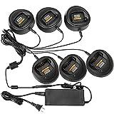 BLVL Multi-Unit Rapid Charger for Motorola CP150 CP200 CP200XLS CP200d PR400 Radio