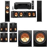 Klipsch RP-280F Tower Speakers-7.2-Denon AVR-X6300H