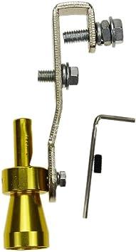 Fansport Turbo Pfeife Ventil Simulator Auto Auspuffrohr Zubeh/ör Turbo Sound Pfeife