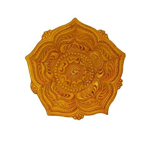 Craft Art India Handmade Earthen Clay / Terracotta Decorative Dipawali / Diwali Diya / Tealight / Oil Lamps for Pooja / Puja , Size(CM):4x16x16