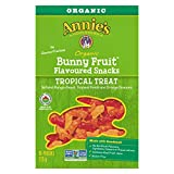 Annie's Homegrown Annie's Homegrown Organic Tropical Fruit Flavoured Snack, 115 Grams